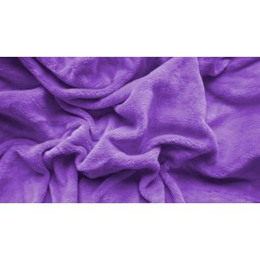 prostěradlo mikroplyš plyšové teplé jednolůžko 90 x 200 cm fialové