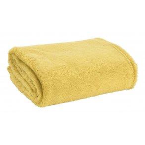 deka fleece zluta