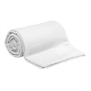 Fleecová deka bílá
