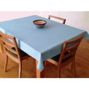 Teflonový ubrus 140x120 cm modrý