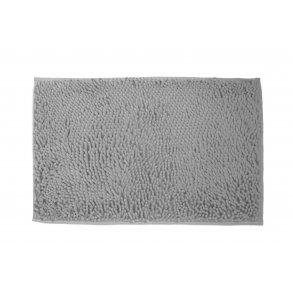 Koupelnová přednožka hotelová rohožka bavlněná mikrovlákno žinylková šedá