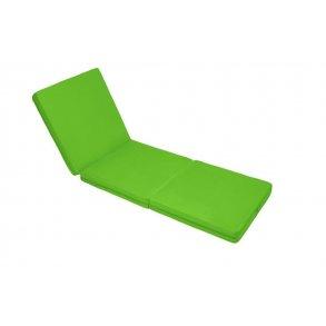 Skládací matrace zelená