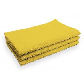 Ručník malý dětský pro hosty bavlněný žlutý