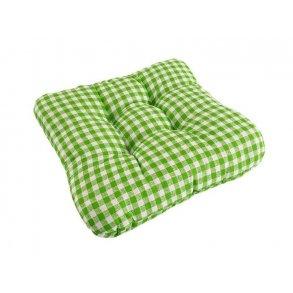 Sedák na židli Soft canafas zelený