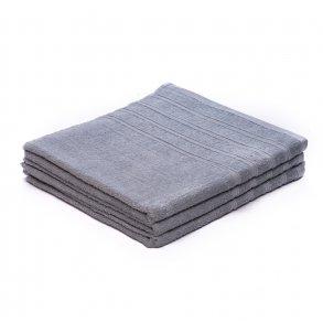 Osuška bavlněná 70 x 140 cm šedá