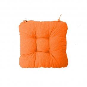 Sedák na židli Soft oranžový