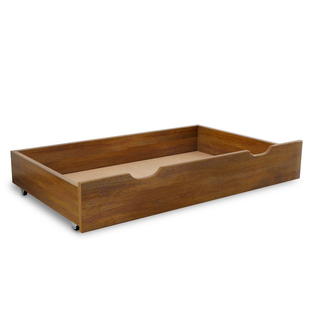 Maxi Drew Uložný box pod postel 98 cm, dub