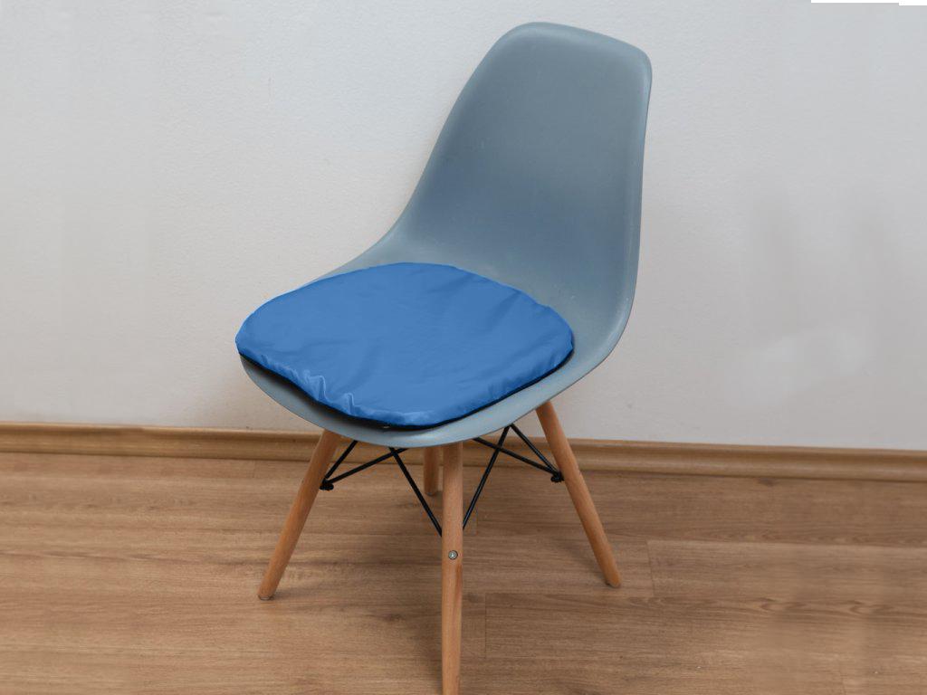Sedák na židli Standard světle modrý