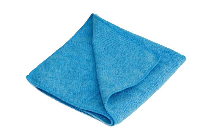 Švédská utěrka Crystal modrá Rozměr: 40 x 40 cm