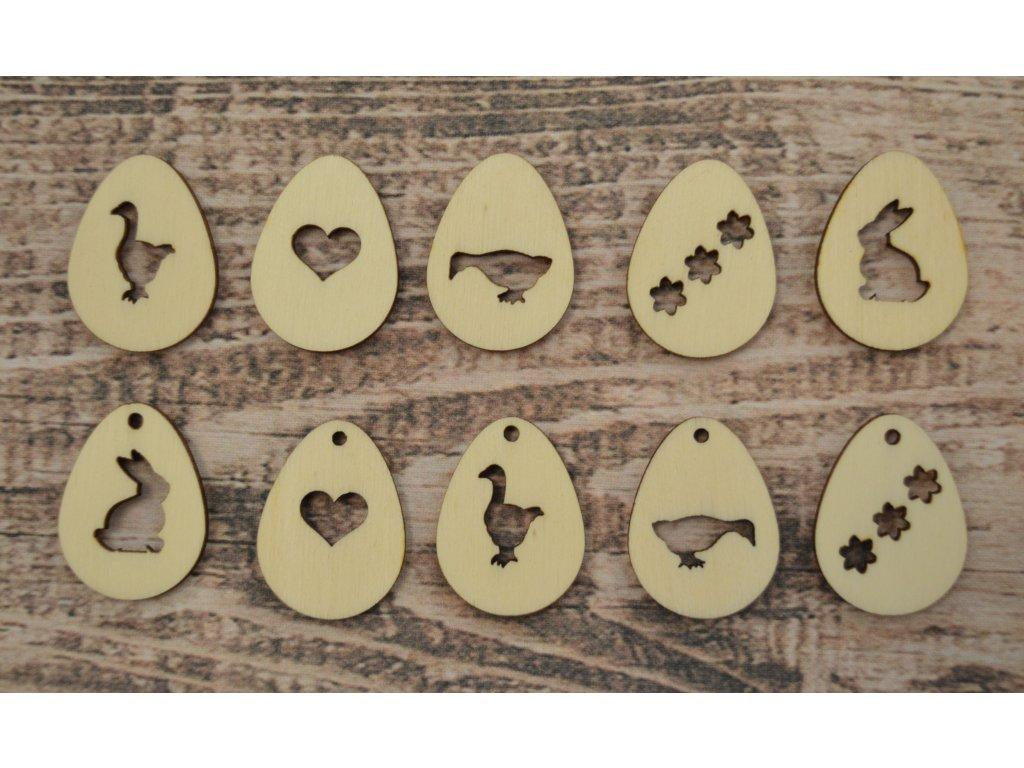 Velikonoční vajíčka sada 5ks