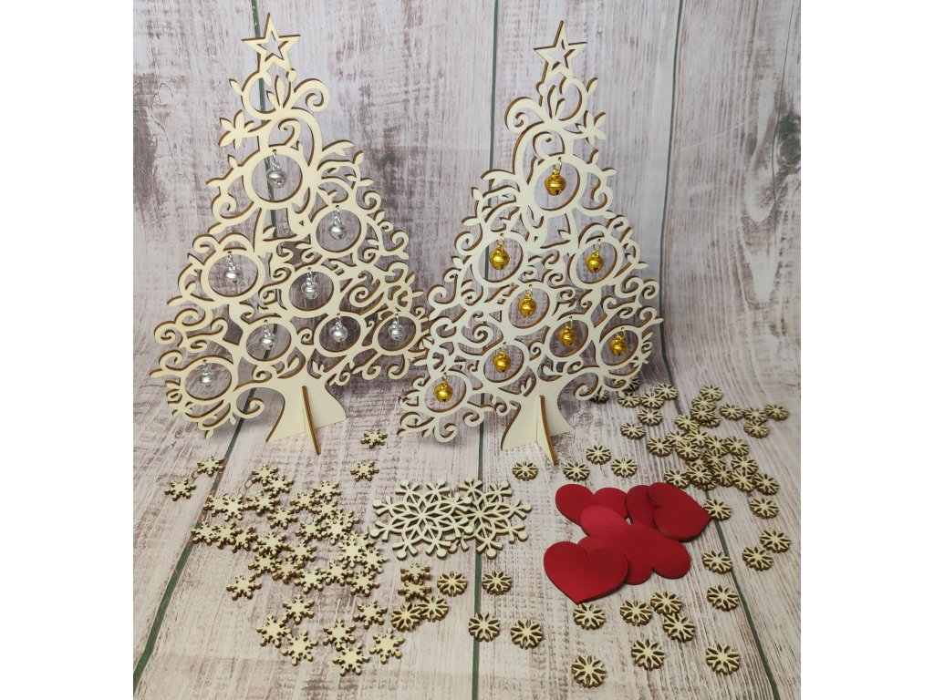 Vánoční stromeček s rolničkami