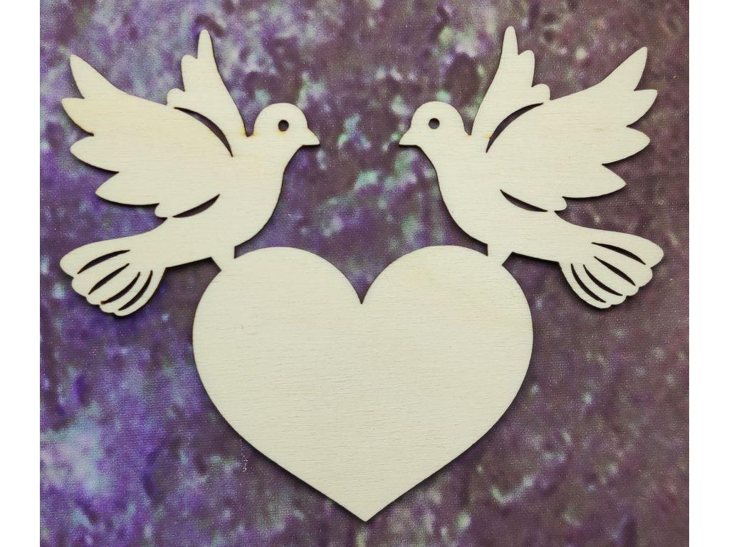Svatební holubice