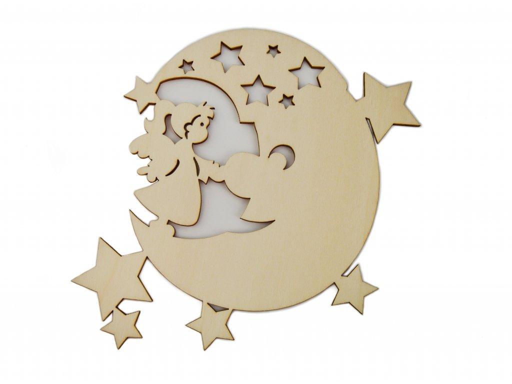 Anděl s měsíčkem