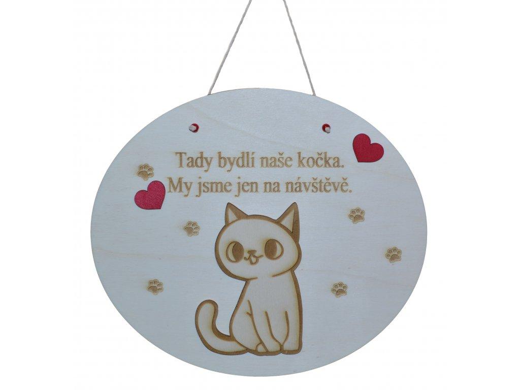 Cedulka pro kočičku