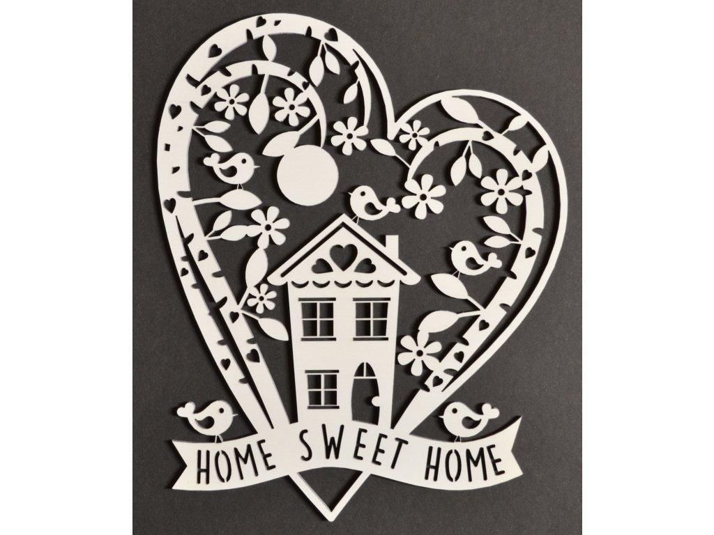 Srdce s domečkem