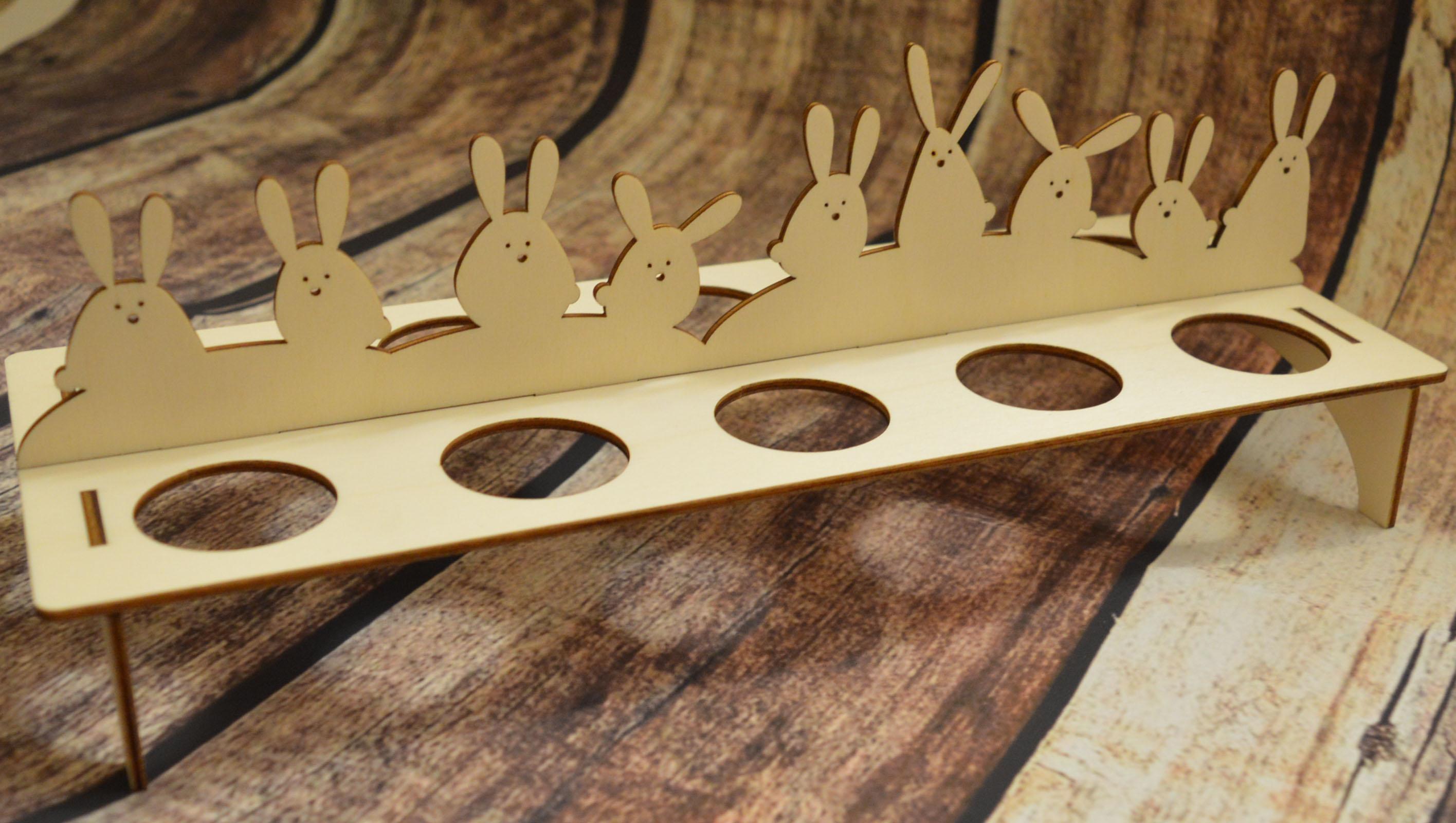 Velikonoční stojánek na vajíčka Tloušťka: 5mm