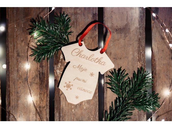 Ozdoba -  Moje první vánoce