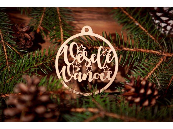Baňka - veselé vánoce