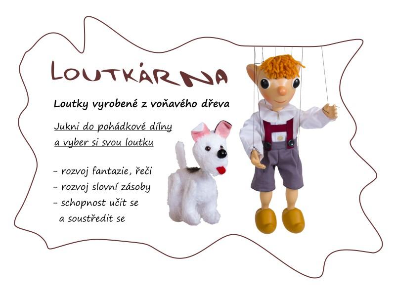 loutky a marionety - česká výroba - vysoká kvalita