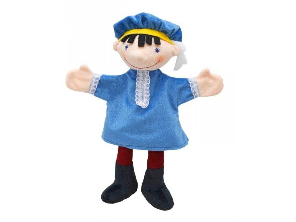 Maňásek - Princ - hračka z textilu