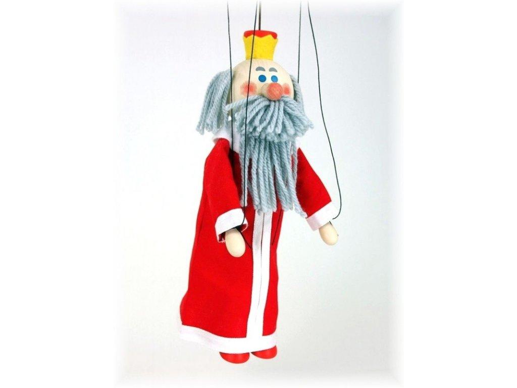 Dřevěná loutka - hračka ze dřeva - Král