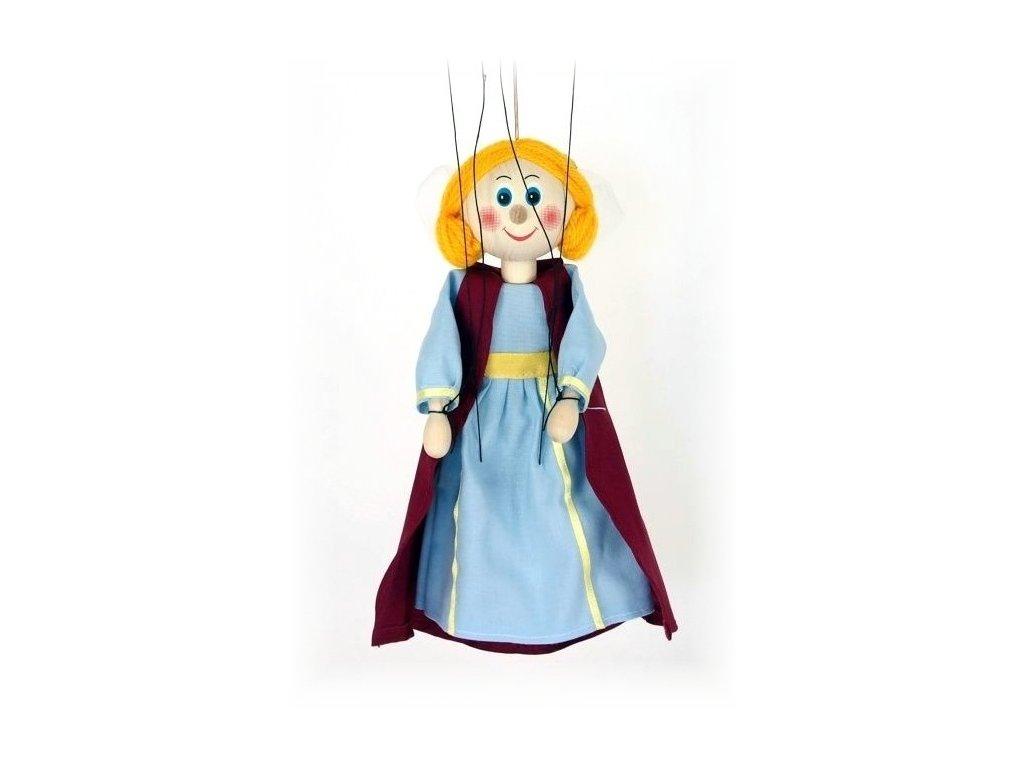 Dřevěná loutka - hračka ze dřeva - Středověká princezna
