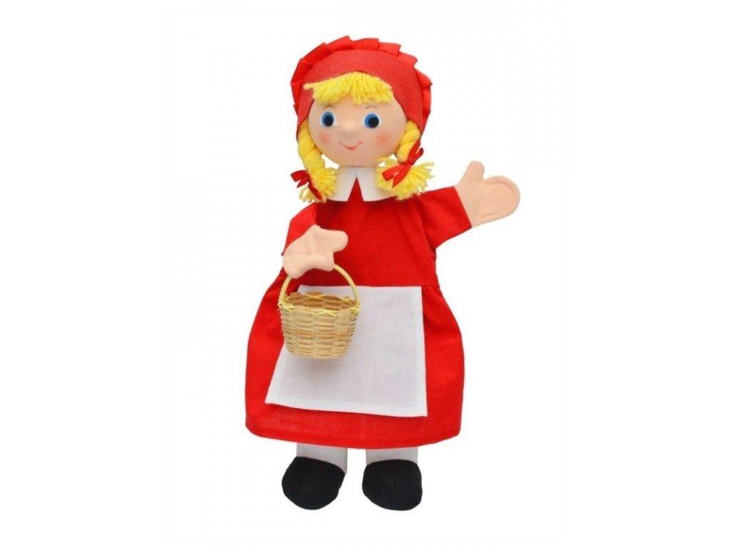 Maňásek - Karkulka copy - hračka z textilu