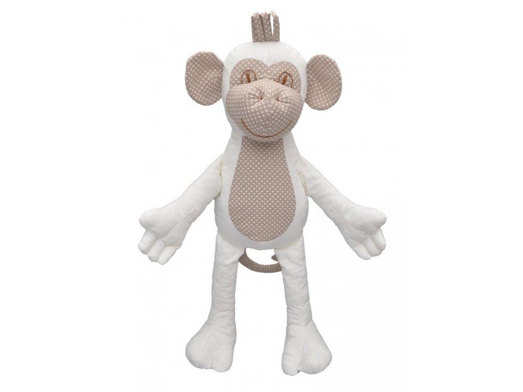 71348 textilní maňásek opička pro nejmenší