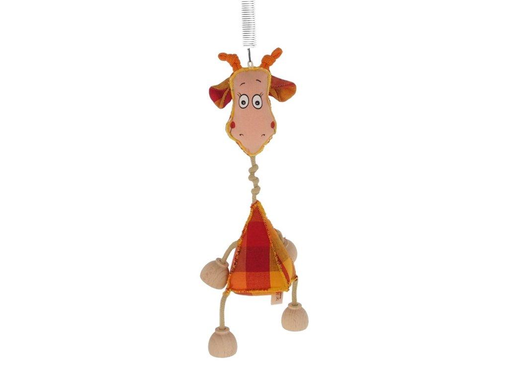 žirafa na pružině pro děti