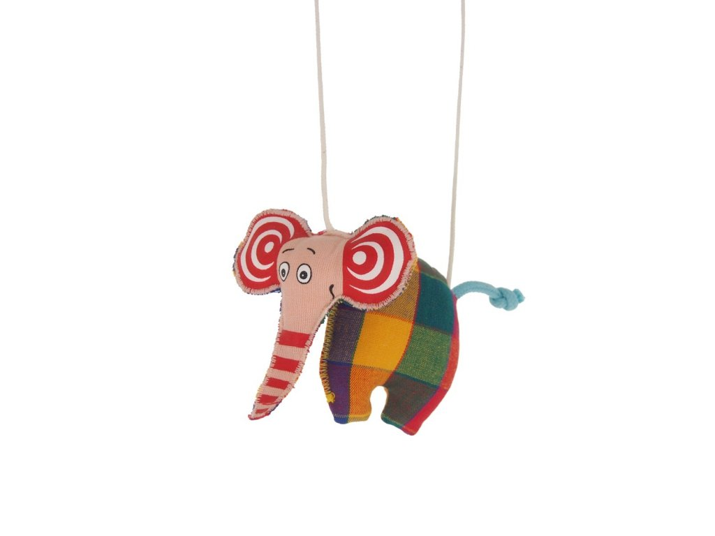 marioneta pro děti sloník