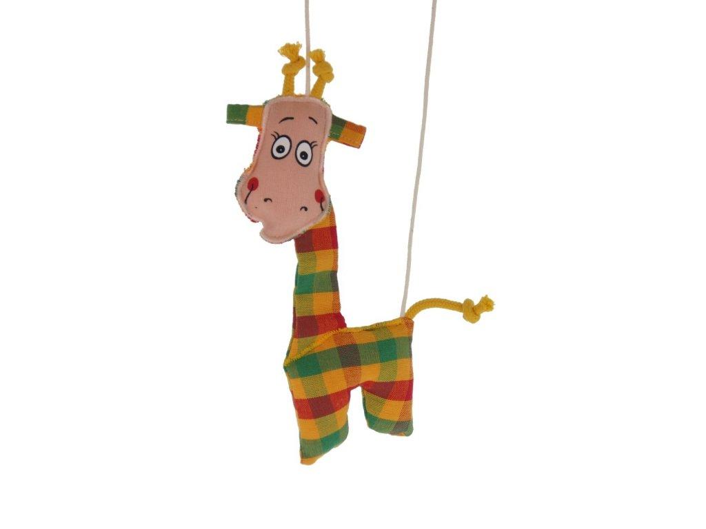 marioneta pro děti žirafka