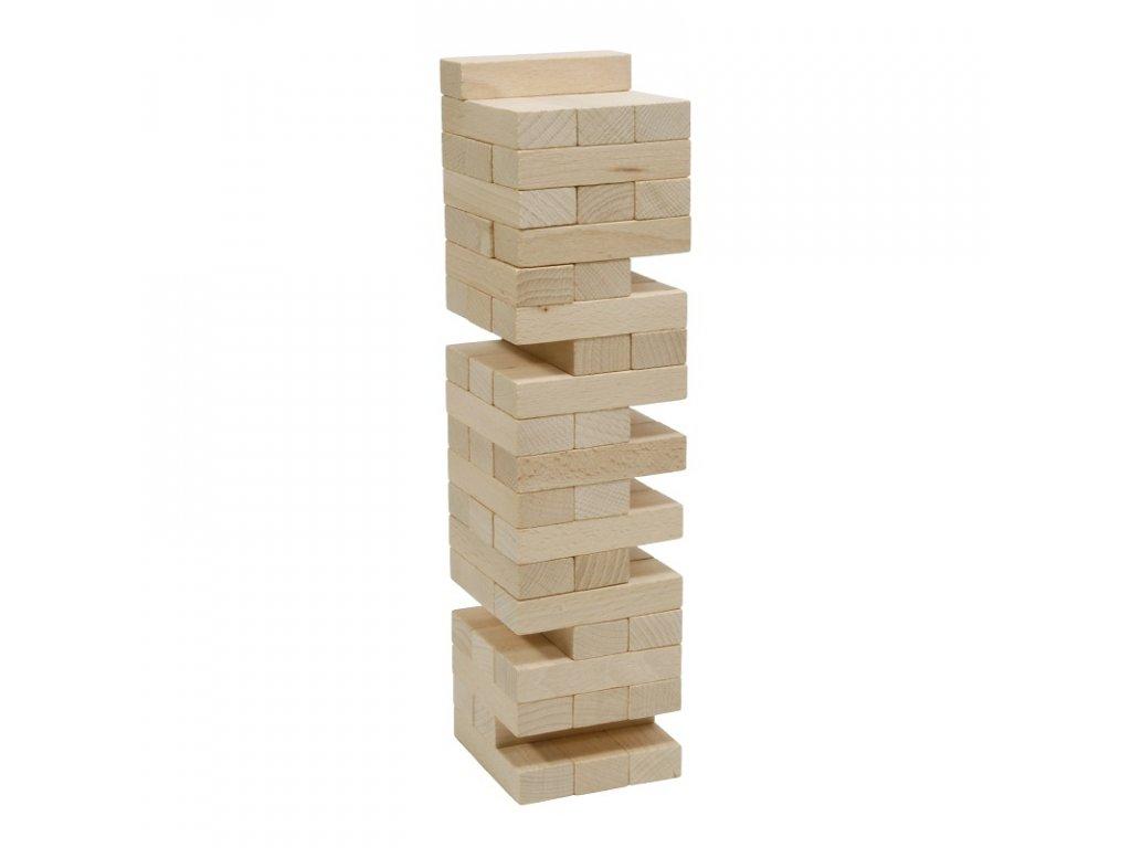 66008 věž skládací ze dřeva naturová