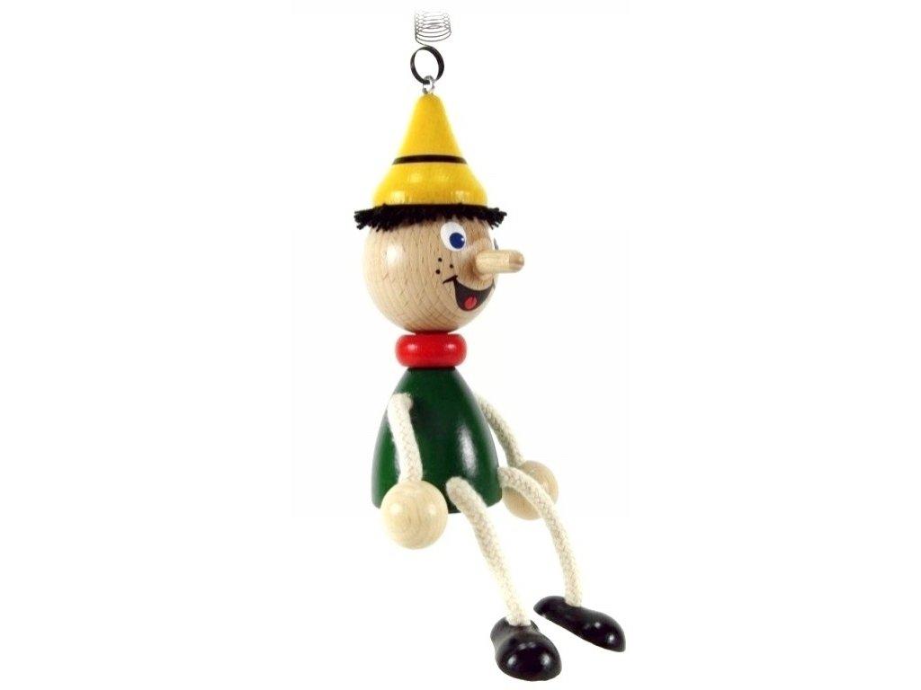40267 (1) figurka na pruzine ze dreva pinochio pro deti
