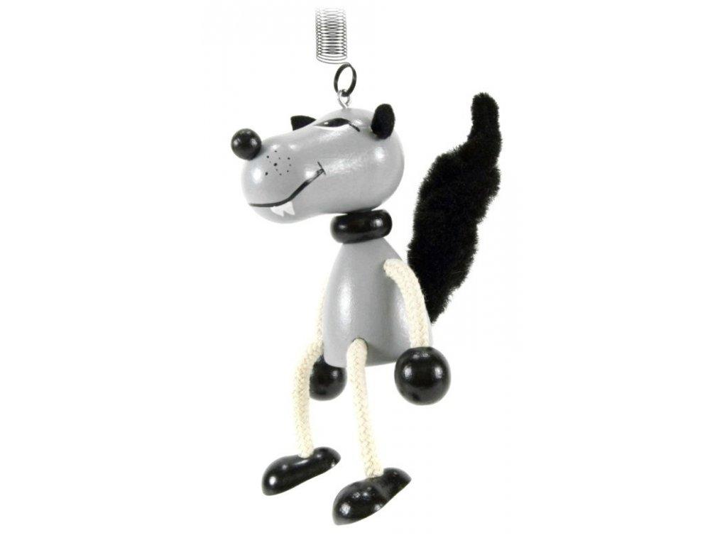 65fd83c10 40298 (5) figurka na pruzine ze dreva vlk pro deti