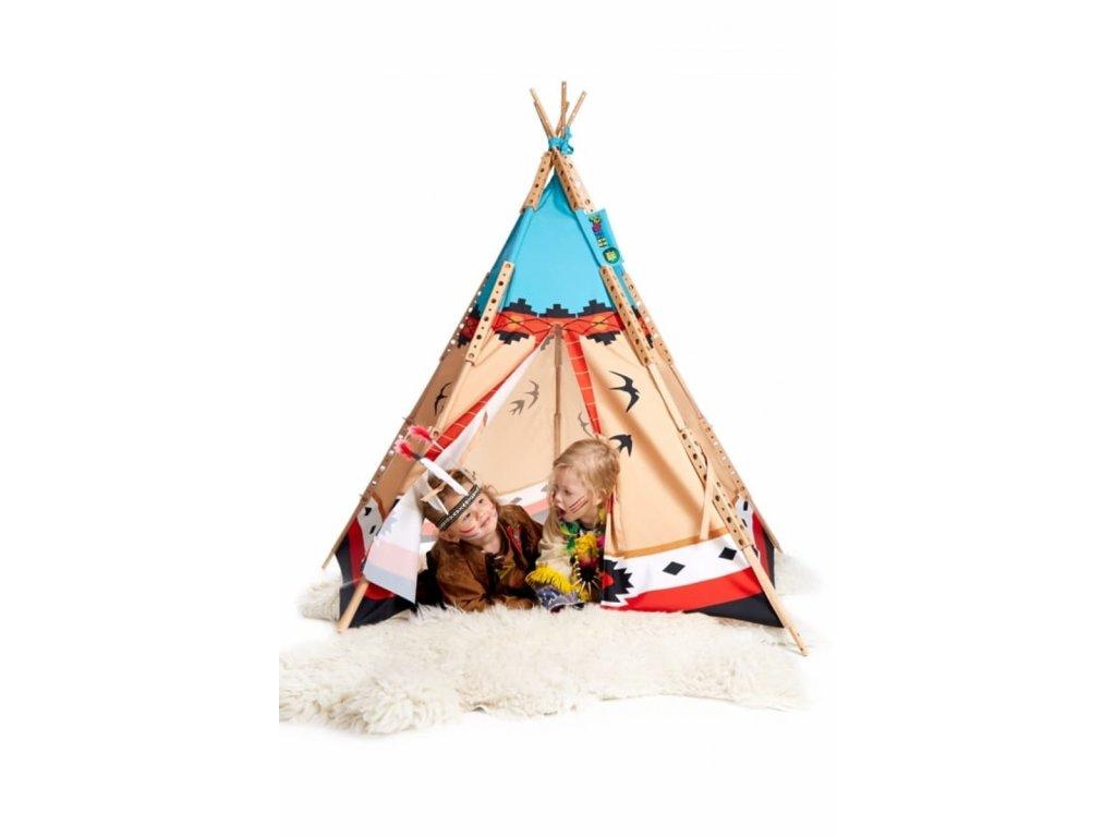 73004 dětské indiánské tee pee