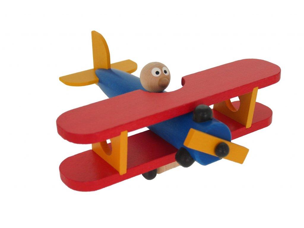 68134 dřevěné letadélko český výrobek pro děti