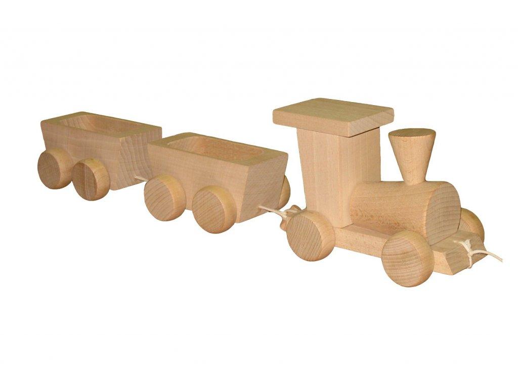 60012 vlak dreveny prirodni vlacek