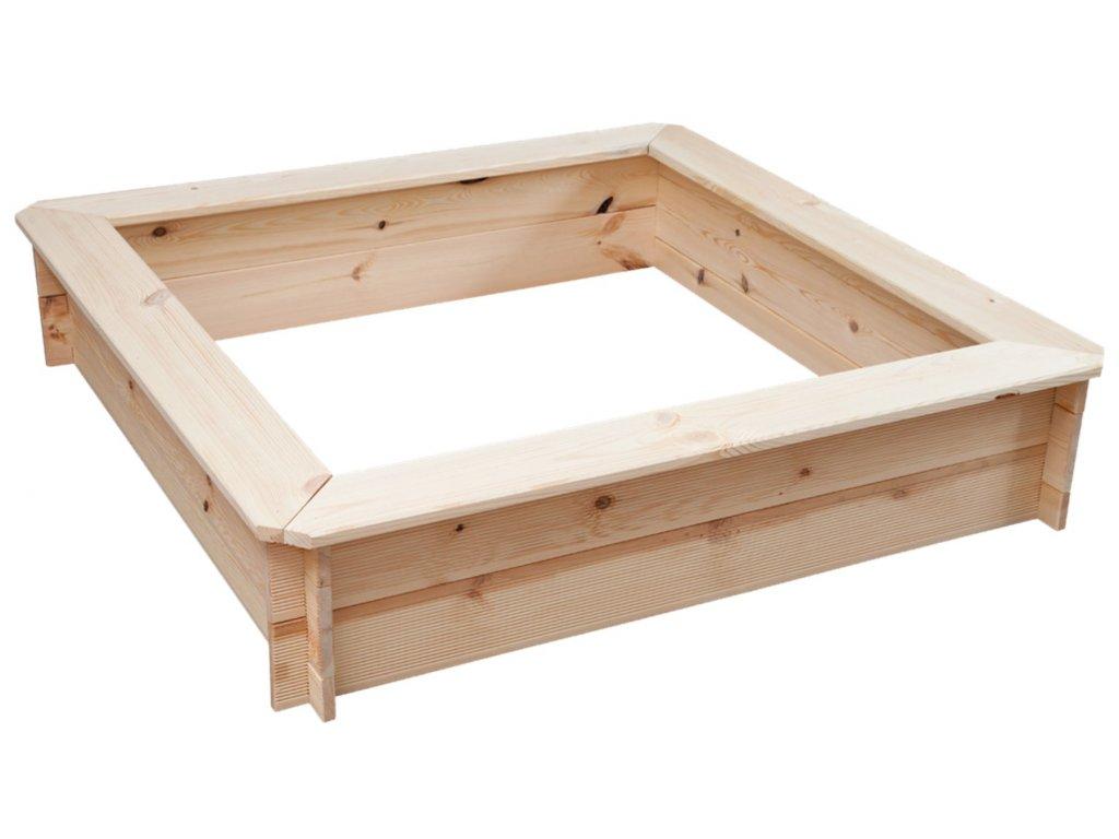 81018 kvalitní pískoviště dřevěné