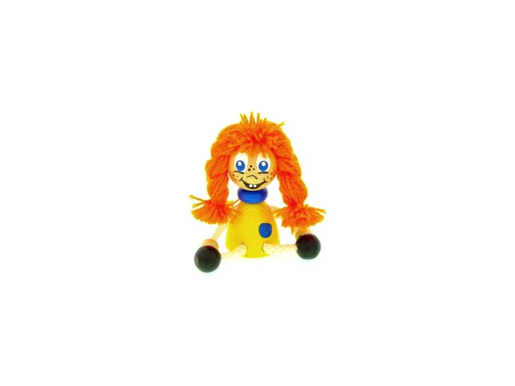 Figurka magnetka ze dřeva - Mary