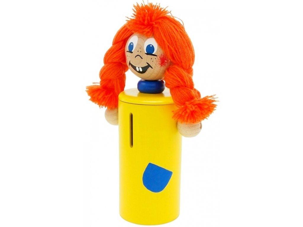 Kasička hračka ze dřeva Mary