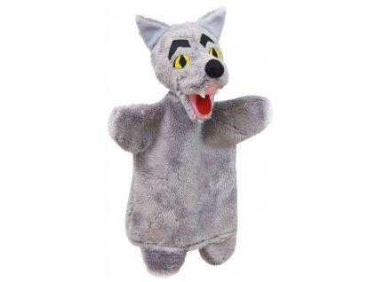 Maňásek - Vlk - hračka z textilu