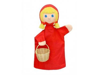 Maňásek - Karkulka - hračka z textilu