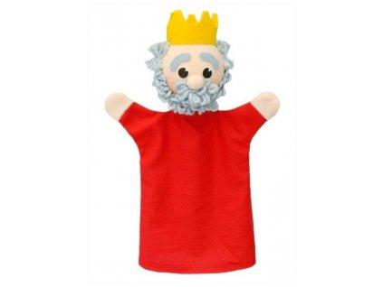 Maňásek - Král - hračka z textilu