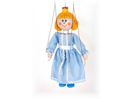 Dřevěná loutka - hračka ze dřeva - Princezna