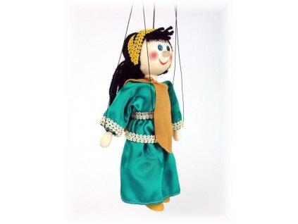 Dřevěná loutka - hračka ze dřeva - Afrodité