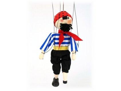 Dřevěná loutka - hračka ze dřeva - Pirát