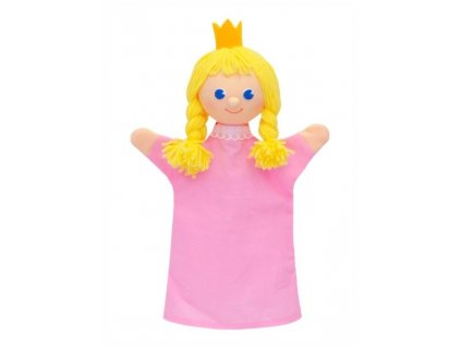 Maňásek - Princezna - hračka z textilu
