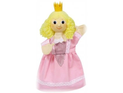Maňásek - Princezna Regina růžová - hračka z textilu
