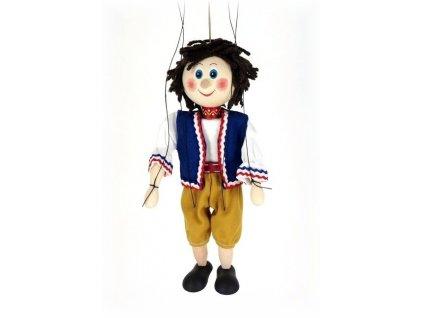 Dřevěná loutka - hračka ze dřeva - Honza