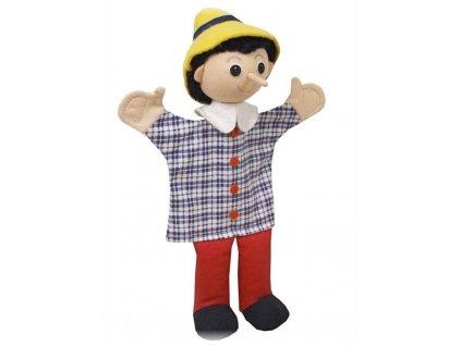 Maňásek - Kluk s dlouhým nosem - hračka z textilu